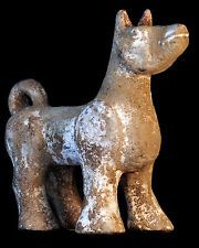 Ancient Chinese Pottery Figure of a Dog - Possibly Han dynasty -NO RESERVE