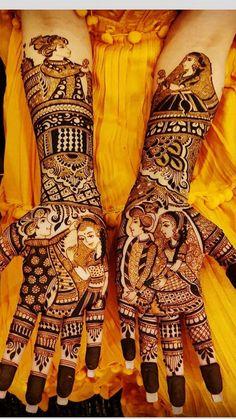Photo By Arjun Mehandi Artist - Mehendi Artist Arabic Bridal Mehndi Designs, Engagement Mehndi Designs, Indian Henna Designs, Mehndi Designs Book, Stylish Mehndi Designs, Dulhan Mehndi Designs, Mehndi Design Photos, Mehndi Designs For Fingers, Latest Mehndi Designs