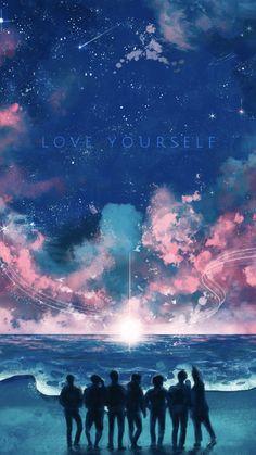 Love yourself wallpaper 🤗 Bts Bts Wallpaper Lyrics, Army Wallpaper, Bts Jungkook, Namjoon, Bts Qoutes, Bts Maknae Line, Les Bts, Bts Lyric, Bts Backgrounds
