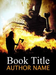 Vikings! A great premade ebook cover with Viking theme now available in my gallery at SelfPubBookCovers: One-of-a-kind premade book covers where Authors can instantly customize and download their covers, and where Artists can post a cover and name their own price.