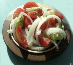 Marinated Cucumbers, Onions, And Tomatoes Recipe - Food.com