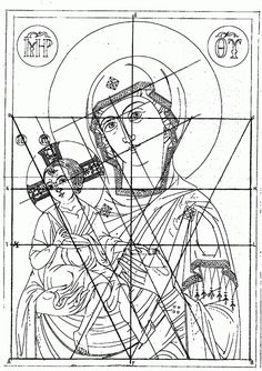 Symbolism of spatial structures Christian Drawings, Christian Pictures, Christian Art, Religious Images, Religious Icons, Religious Art, Byzantine Art, Byzantine Icons, Madonna