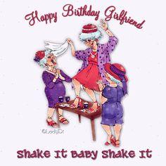 Funny Happy Birthday Quotes for Friends Happy Birthday Girlfriend, Happy Birthday Pictures, Happy Birthday Funny, Happy Birthday Messages, Happy Birthday Greetings, Birthday Wishes, Funny Happy, Daddy Birthday, Birthday Qoutes