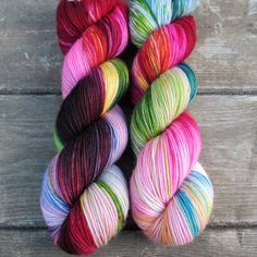 Perfectly Wreckless - Yummy 3-Ply - Babette | Miss Babs Hand-Dyed Yarns & Fibers, Inc.