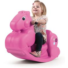$19 Step2 Carousel Pony Ride-On:      Keep your child rocking for hours     Whimsical design     Easy-grip handles     High back for support     Easy-rest foot runners     Smooth ride