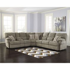 1000 Ideas About Reclining Sectional On Pinterest Ashleys Furniture Sectional Sofas And