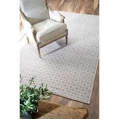 nuLOOM Handmade Flatweave Moroccan Trellis Cotton Rug (8' x 10') | Overstock.com Shopping - Great Deals on Nuloom 7x9 - 10x14 Rugs