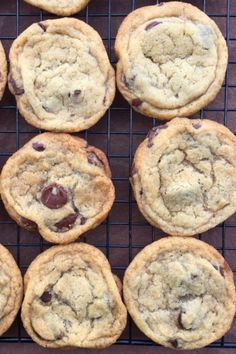 The Best Vegan Chocolate Chip Cookies | From Vedgedout