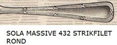 SOLA MASSIVE 432 STRIKFILET ROND