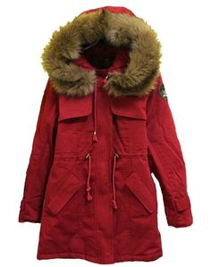 Womens Thick Military Jacket Faux Fur Hooded Long Winter Coat Parka  http://www.yearofstyle.com/womens-thick-military-jacket-faux-fur-hooded-long-winter-coat-parka/