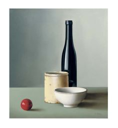 low-country: Freddy van Cotthem - Composition with billiard ball, 1988 Still Life Sketch, Still Life Drawing, Painting Still Life, Minimal Photography, Object Photography, Still Life Photography, Still Life Artists, Composition Art, Nature Sketch