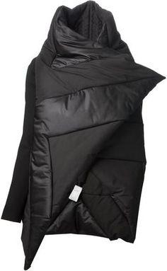 Gareth Pugh asymmetric padded jacket
