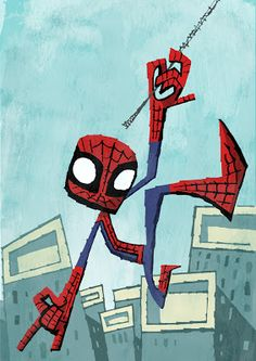 I Heart Pencils: Spider-man