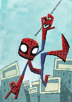 I Heart Pencils: Spider-man
