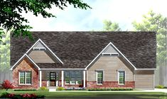 TBB Woodside #14053713 - The Estates at Deer Hollow by Fischer and Frichtel offers wooded home sites ranging from 3 to 7 acres in Wildwood! The Woodside is a 3 bedroom, 2 bath, 2,662 square foot split bedroom ranch.