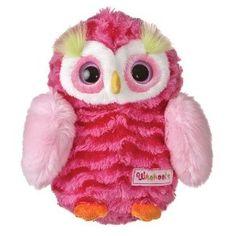 ~~CUTE~~ Soft N' Pink Plush Owl....