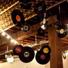 mariage musique décoration vinyls