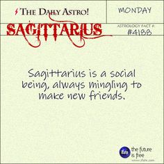 Sagittarius 4188: Visit The Daily Astro for more facts about Sagittarius.and get a free online I Ching reading here