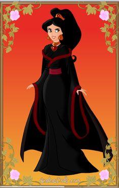 Evil Jasmine by A1r2i3e4l5 on DeviantArt