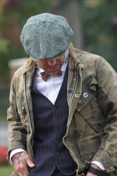 Style, aged Barbour jacket | If you know where to...