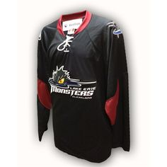 Lake Erie Monsters 3rd Replica Jersey - Now that is sharp