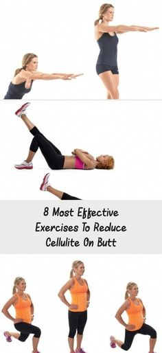 8 Most Effective Exercises to Reduce Cellulite on Butt - Just Healthy Way #ExerciseVideos #ExerciseForTeens #ExerciseIcon #ExerciseInspiration #ExerciseLogo #BestAntiCelluliteCream #InstantCelluliteRemoval #ExercisesToReduceCellulite #ArmCelluliteRemoval #CelluliteRemovalZagreb #CelluliteRemovalFromLegs #CelluliteCream Cellulite Wrap, Causes Of Cellulite, Cellulite Exercises, Cellulite Remedies, Reduce Cellulite, Anti Cellulite, Cellulite Workout, Do Exercise, Easy Workouts
