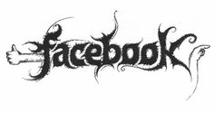 Famous logos in black metal style   StockLogos.com