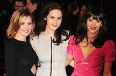 the downton abbey sisters in real life...if you haven't gotten on board with this show yet...get with it.