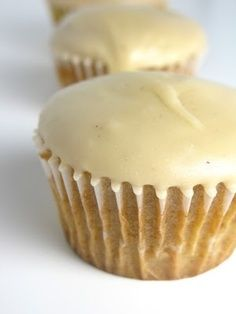 Anything with browned butter is better:)  Brown Sugar Poundcakes with Brown Butter Icing