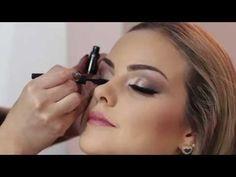 Maquiagem passo a passo em modelo by Juliana Balduino - YouTube