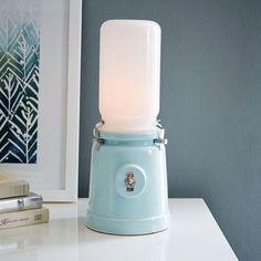 Kranen/Gille Table Lamp - Eggshell Green | West Elm