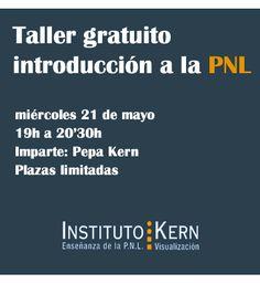 ¿Te interesa saber que es la PNL? http://www.institutokern.es/tienda/producto/taller-gratuito-introduccion-la-pnl/