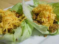 Ally's Sweet and Savory Eats: Healthy Turkey Lettuce Wraps