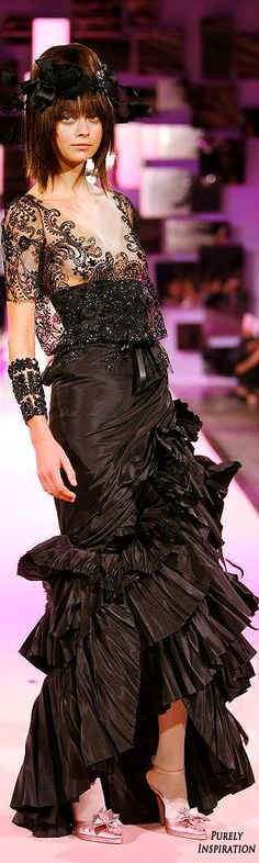 Christian Lacroix SS2007 | Purely Inspiration