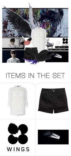 """""""BTS WINGS JUNGKOOK BEGIN (Female Version)"""" by ravstylin on Polyvore featuring art"""