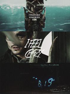 I feel like somebody else. I feel crazy #Hannibal