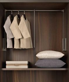 VALET ROD - Designer Furniture fittings from Former ✓ all information ✓ high-resolution images ✓ CADs ✓ catalogues ✓ contact information ✓. Modern Wardrobe, Wardrobe Design, Built In Wardrobe, Hotel Room Design, Chinese Furniture, Walk In Closet, Dressing Room, Furniture Design, Interior