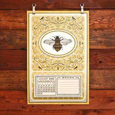 Honeybee Calendar