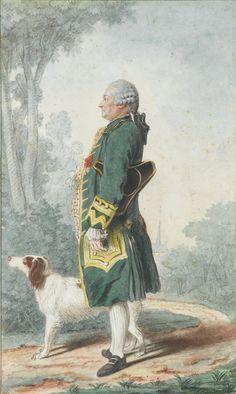 Jean-Jacques de Marguerie (1742-1779), mid 18th century by Louis Carrogis dit Carmontelle (1717-1806)