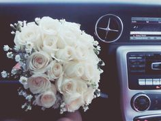 #luxury #roses #white