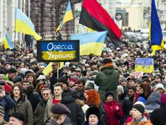 odessa ukraine news today | an anti-war rally and march in the south Ukrainian city of Odessa ...