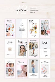 Instagram Stories Photoshop Pack by AdoredDesigns.com on @creativemarket #AD