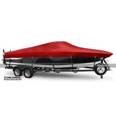 "Eevelle WindStorm Watercraft Cover Beam Width x Centerline: 90"" x 246"", Color: Charcoal"