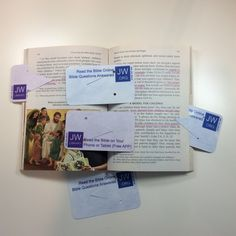 International convention gift, business card size, double sided, laminated, bookmarks (not for Bibles) created in Microsoft publisher