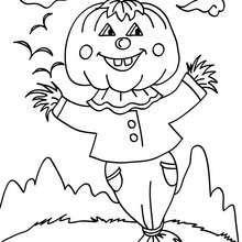 Jack o Lantern scarecrow