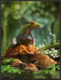 Frog! :D