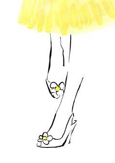 Daisy Shoes. £16.00, via Etsy.
