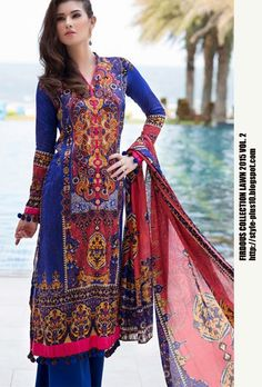Design 19266 From Collection Lawn 2015 Vol.2 By Firdous