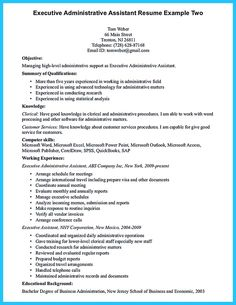 Functional Resume Example | Pinterest | Functional resume, Resume ...