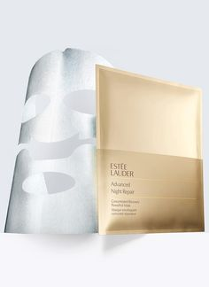 Advanced Night Repair, Concentrated Recovery PowerFoil Mask - First-ever foil-backed weekly mask immerses skin in a double dose of Advanced Night Repair Serum's ChronoluxCB™ technologies for an infusion of youthful moisture. Skin looks instantly fresher, renewed.